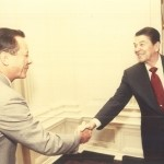 Number 2 Greeting President Ronald Regan