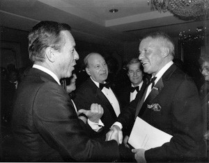 Number 25 Frank Sinatra and Rep Frank Annunzio of Illinois