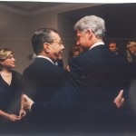 Number 3 Conferring with President Bill Clinton