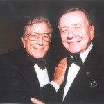 Number 7 Sharing a moment with Tony Bennett